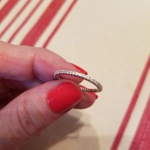 Silpada cz ring
